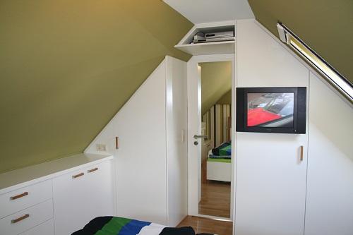 Einbaumöbel-Zimmer